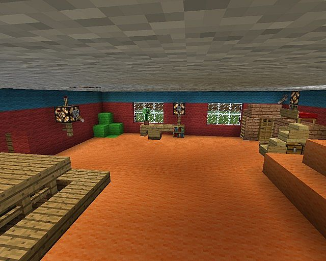 Haus porkchop media einrichtung minecraft project for Minecraft kinderzimmer