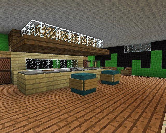 haus porkchop media einrichtung minecraft project. Black Bedroom Furniture Sets. Home Design Ideas