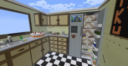 Giant Kitchen HG arena Minecraft Map & Project