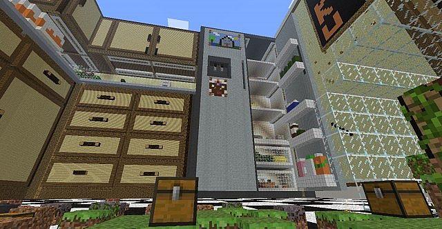Giant Minecraft Kitchen
