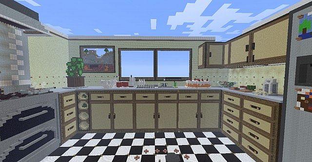 Kitchen HG Arena Minecraft Project