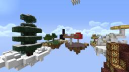 Sky Fight - A 4 Players PvP Map Minecraft Map & Project