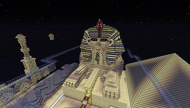 Sphinx Maze Minecraft Project