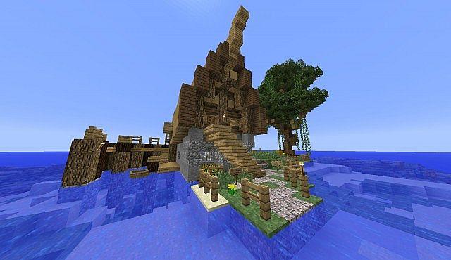 Old Fisherman S Hut Minecraft Project
