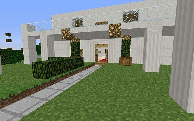 Casa moderna minecraft project for Casas modernas minecraft faciles