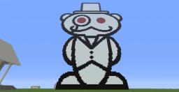 Giant Reddit Snoo Minecraft