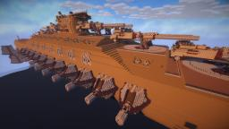 Very large SpaceShip: BattleCarrier Class Minecraft Project