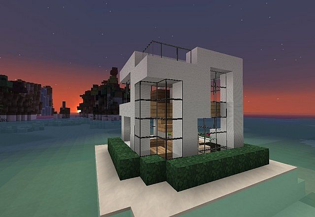 7x7 house lets build minecraft project for 7x7 modern house
