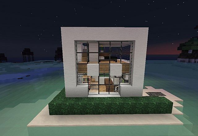 7x7 house lets build minecraft project for Minecraft modern house 7x7