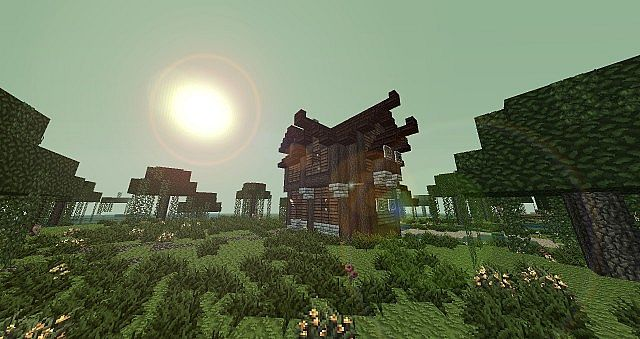 Medieval Swamp House Minecraft Map