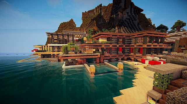 The Cove House Of The Cove House Minecraft Project
