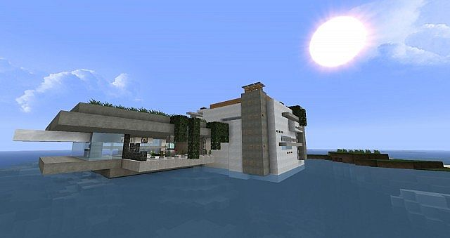 House agua modern architecture from world of keralis for Modern house 5 keralis