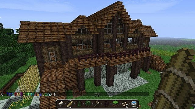 Huge Log Cabins Log Cabin Minecraft Project Log Home And