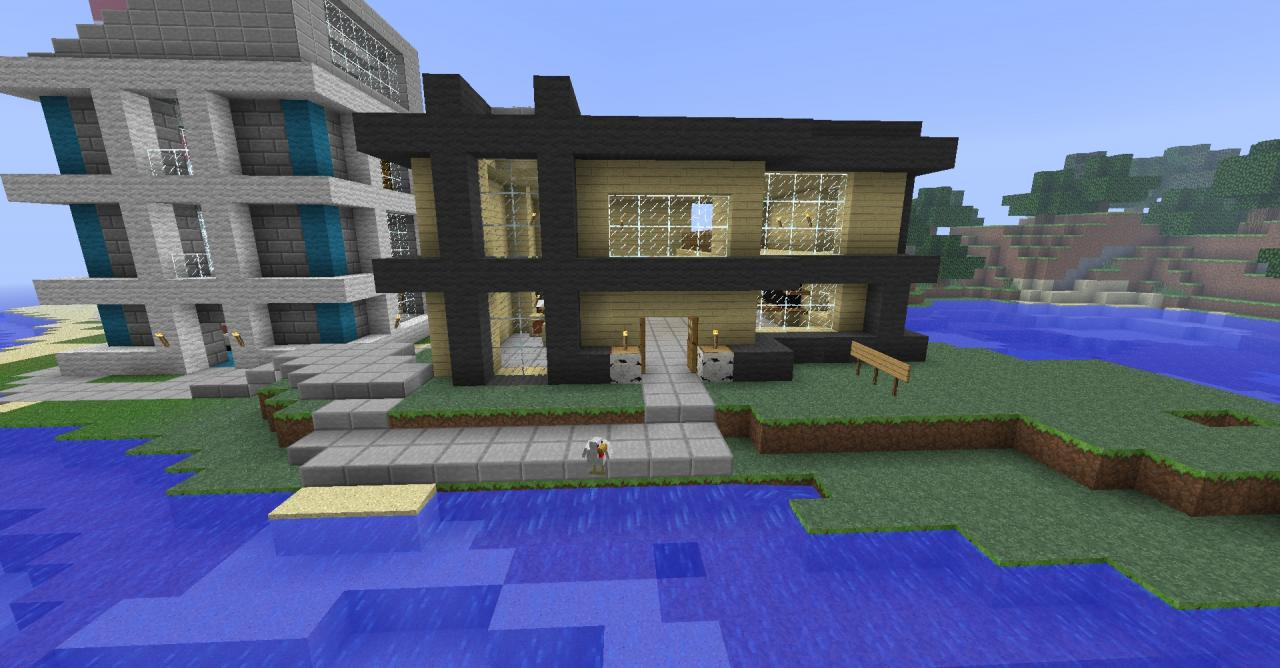 How to make a cool house in minecraft h3 39 s short blogs for Coolhouse com