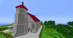 WoodWorth Church Minecraft Map & Project