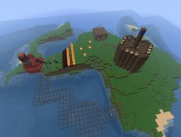 island takeover mini-game Minecraft Map & Project