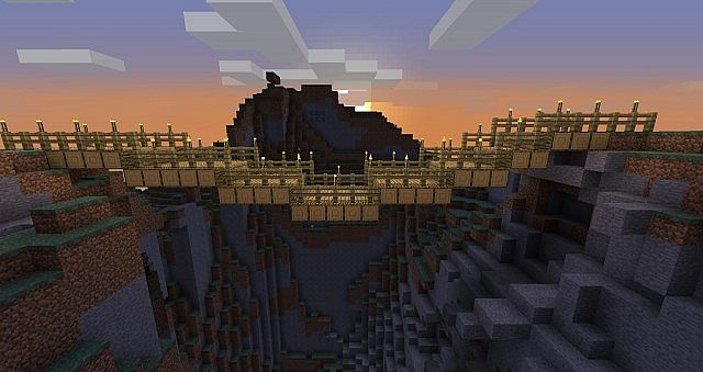 How To Make A Wood Bridge In Minecraft Plans Diy Free Download Diy