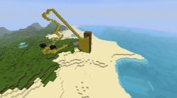 Golden Warhawk Roller Coaster Minecraft Map & Project