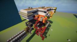 self reloading, automated TNT cannon MK2 (Dispensers Only) Minecraft Project