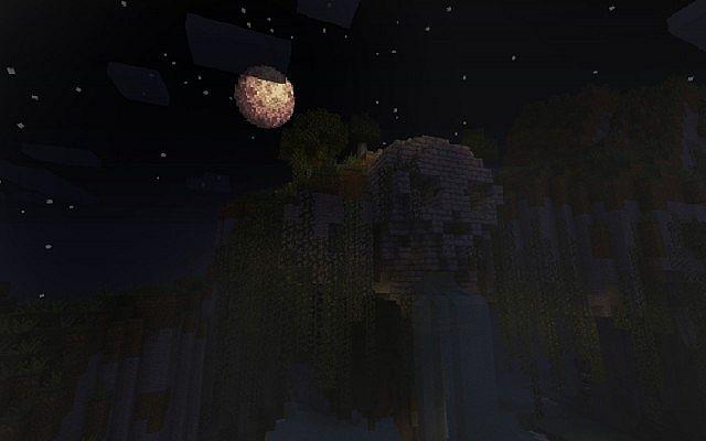 Moonlit Temple