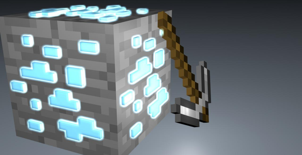 Minecraft diamond block of diamond maynkraft diamonds diamond