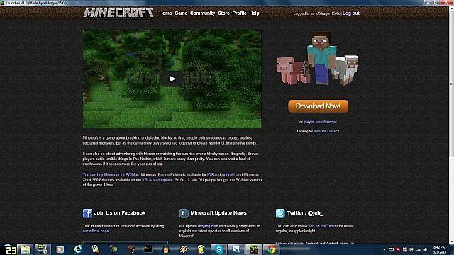 Minecraft Classic Desktop Launcher1 0 Minecraft Mod