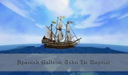 Spanish Galleon Minecraft Map & Project