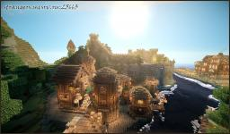 Fishing area of Hawk city Minecraft Map & Project