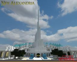 'Sultans Monument' - New Alexandria Minecraft Map & Project