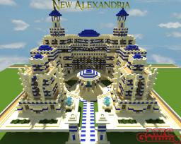 New Alexandria - Sultans Palace Minecraft Map & Project