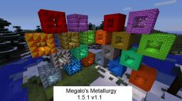 [1.5.1][Forge] Megalo's Metallurgy v1.1 - Adds new Ore, Ingots and Blocks