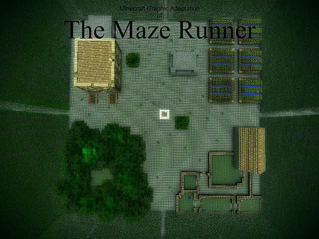 The Maze Runner Minecraft Project