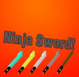 Ninja Sword - By marvinSKINS Minecraft Texture Pack