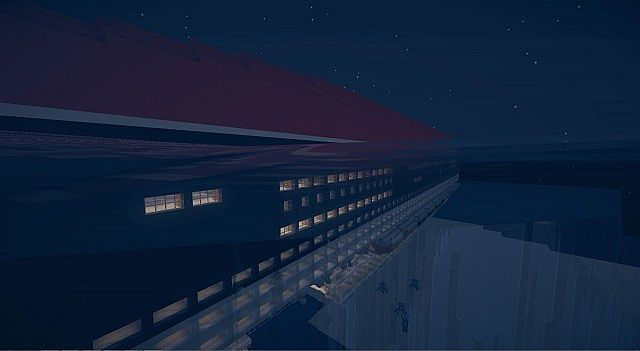 Escape From The Queen Mary 2 Minecraft Project