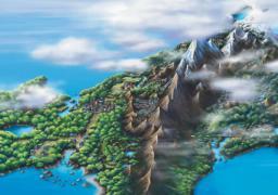 First look Sinnoh map pokemon project