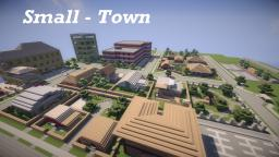 Small-Town Minecraft Map & Project