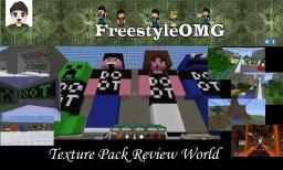 FreeStyleOMG Texture Pack World Minecraft Map & Project