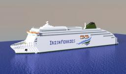 MV Ulysses - Biggest car ferry in the world! Minecraft Map & Project