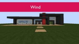 Wind | Modern House Minecraft Map & Project
