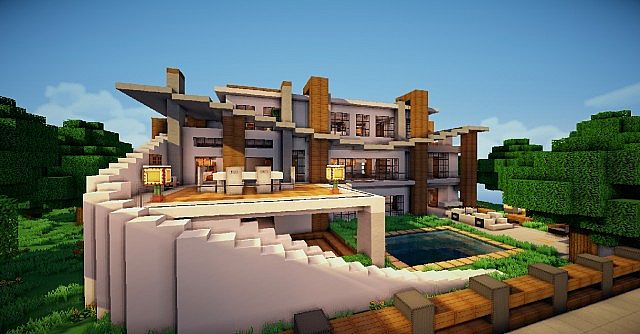 Modern villa world of keralis over 7000 views minecraft project