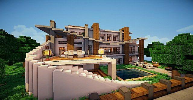Modern villa world of keralis over 7000 views minecraft project