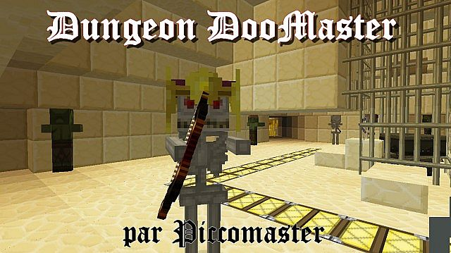 Dungeon DooMaster [1 5+][ENGLISH, FRENCH] Minecraft Project