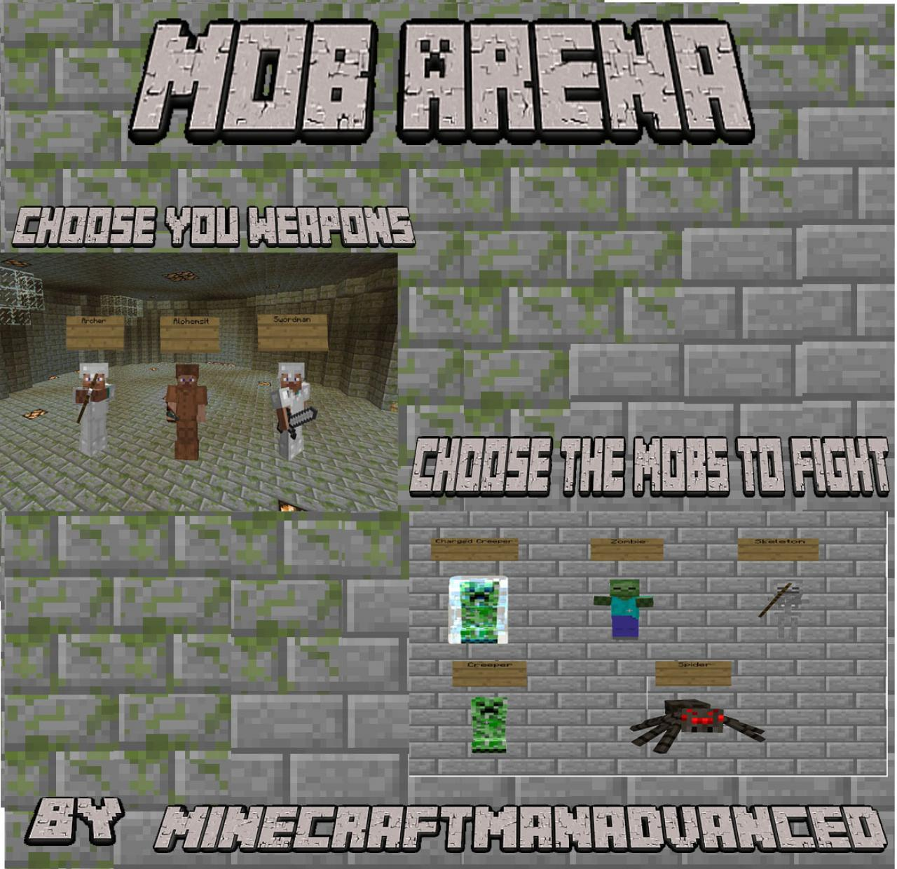 The Mob Arena (Download) Minecraft Project