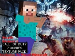 black ops zombies texture pack 1.5+ [over 19,000 downloads and 74,000 views!] Minecraft Texture Pack