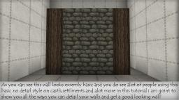 Building Tips - Building Medieval Walls Minecraft Map & Project