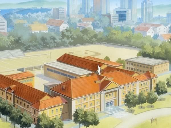 Anime High School Minecraft Project Anime School Front