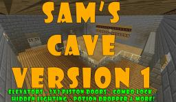 Sam's Cave V1 Minecraft Map & Project