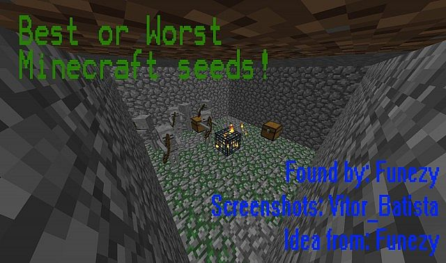 THE WORST SEED EVER (1.7.3 seed) Minecraft Project
