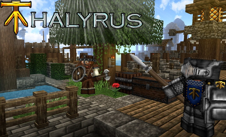 Welcome to Thalyrus - Resource Pack with medieval castle style