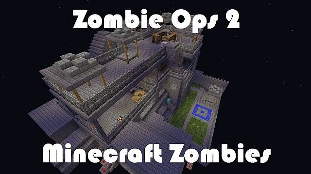 Zombie Ops 2 - Call Of Duty zombies in Minecraft (No Mods) Minecraft ...